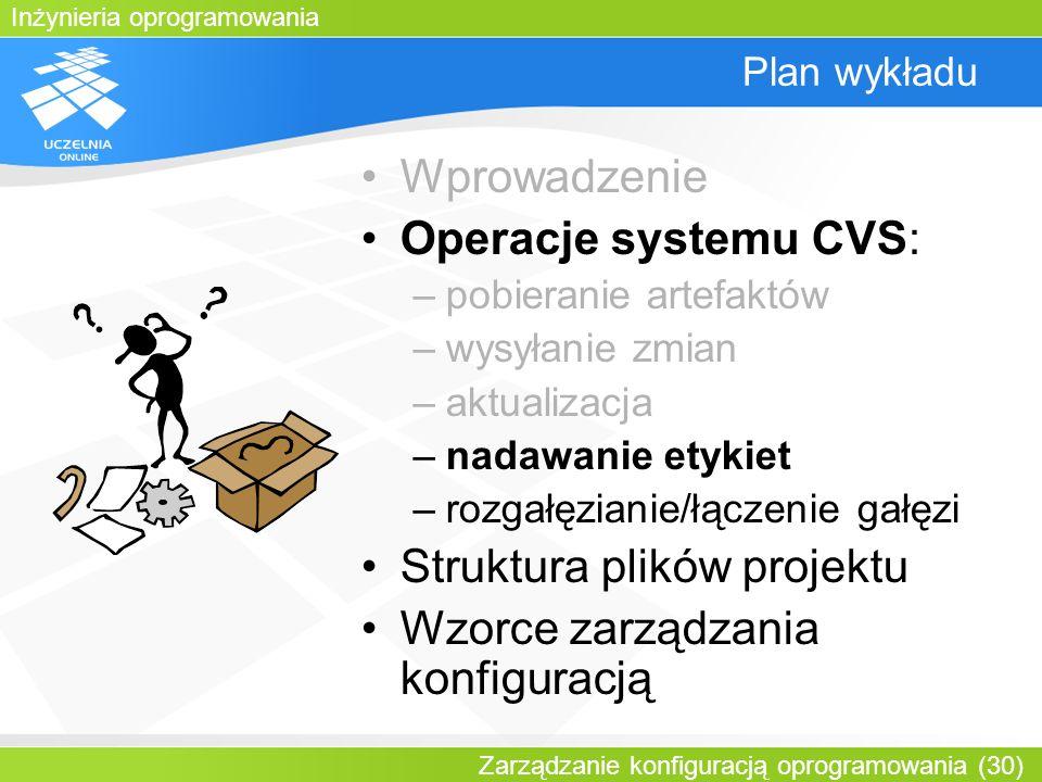 Struktura plików projektu Wzorce zarządzania konfiguracją