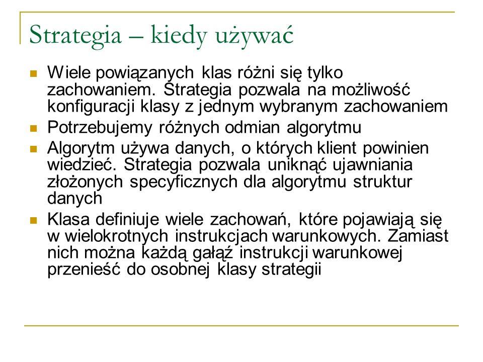 Strategia – kiedy używać