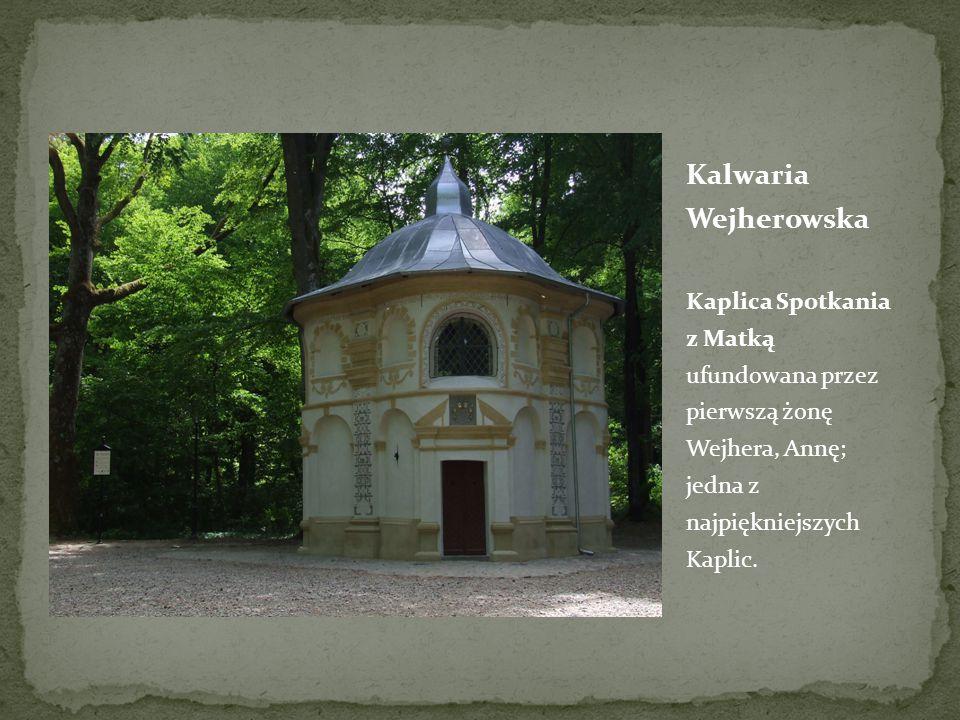 Kalwaria Wejherowska Kaplica Spotkania z Matką ufundowana przez