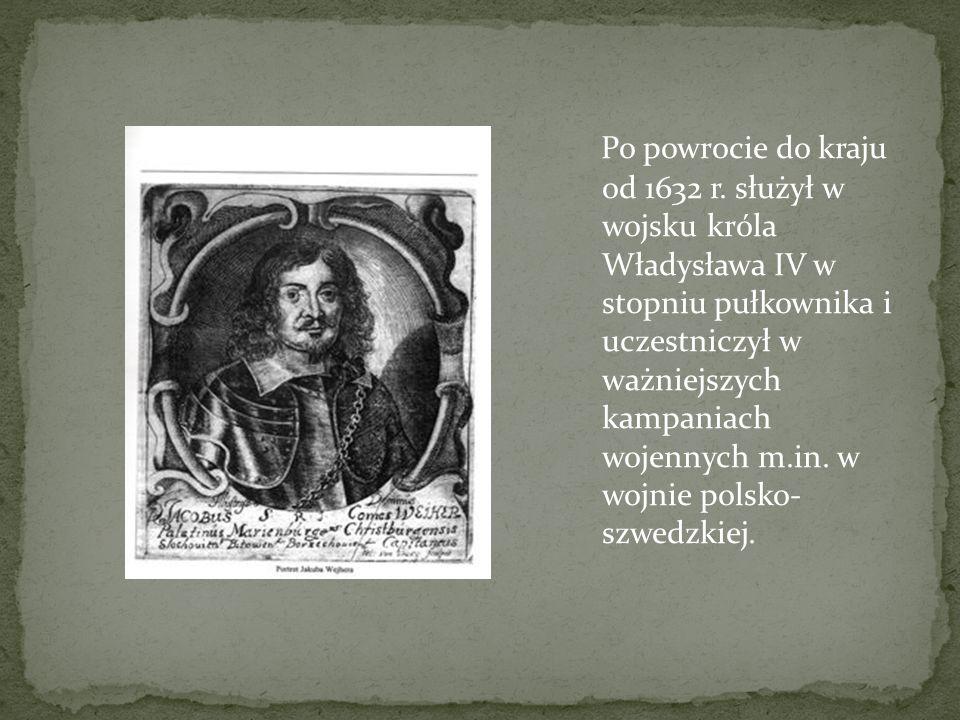 Po powrocie do kraju od 1632 r