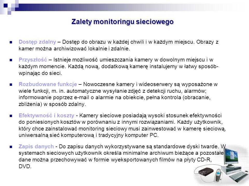 Zalety monitoringu sieciowego
