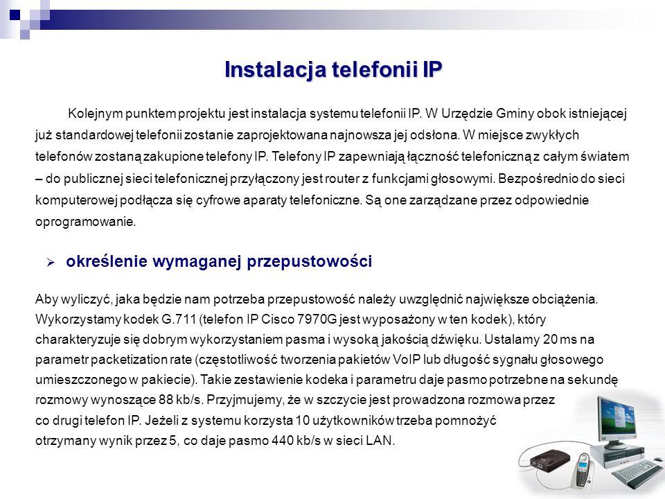 Instalacja telefonii IP
