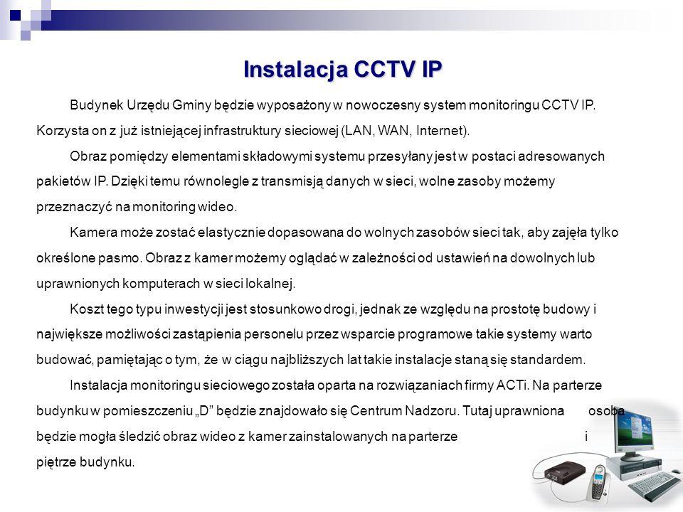 Instalacja CCTV IP