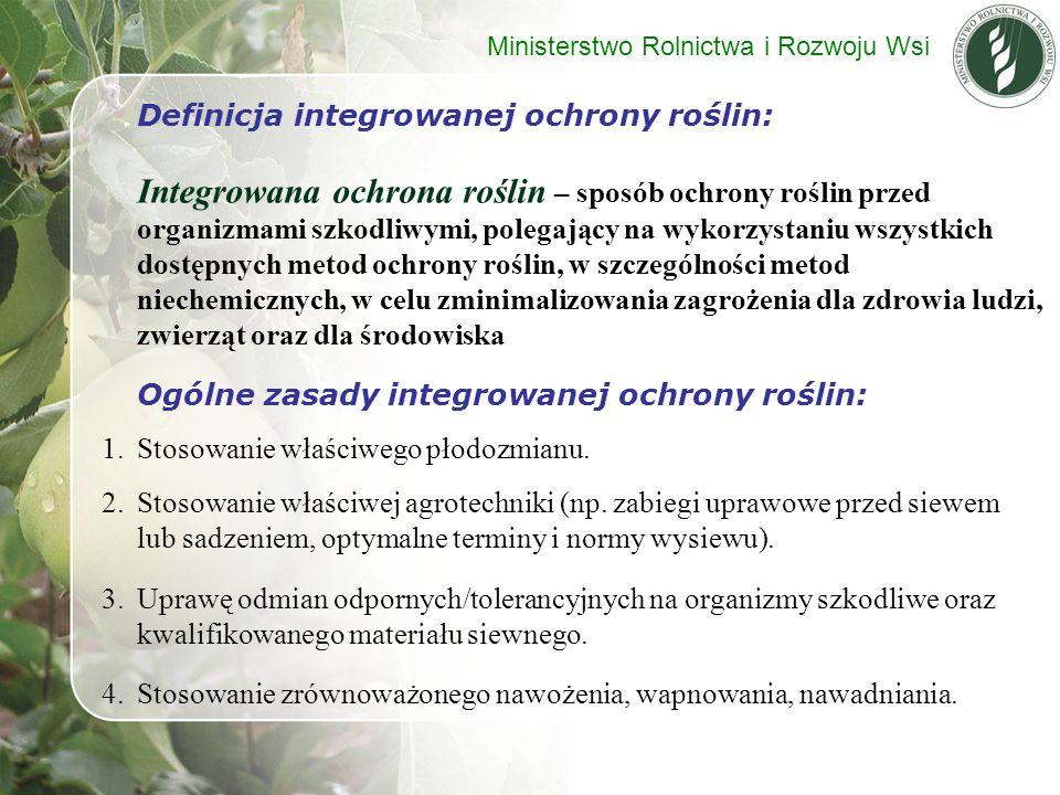 Definicja integrowanej ochrony roślin: