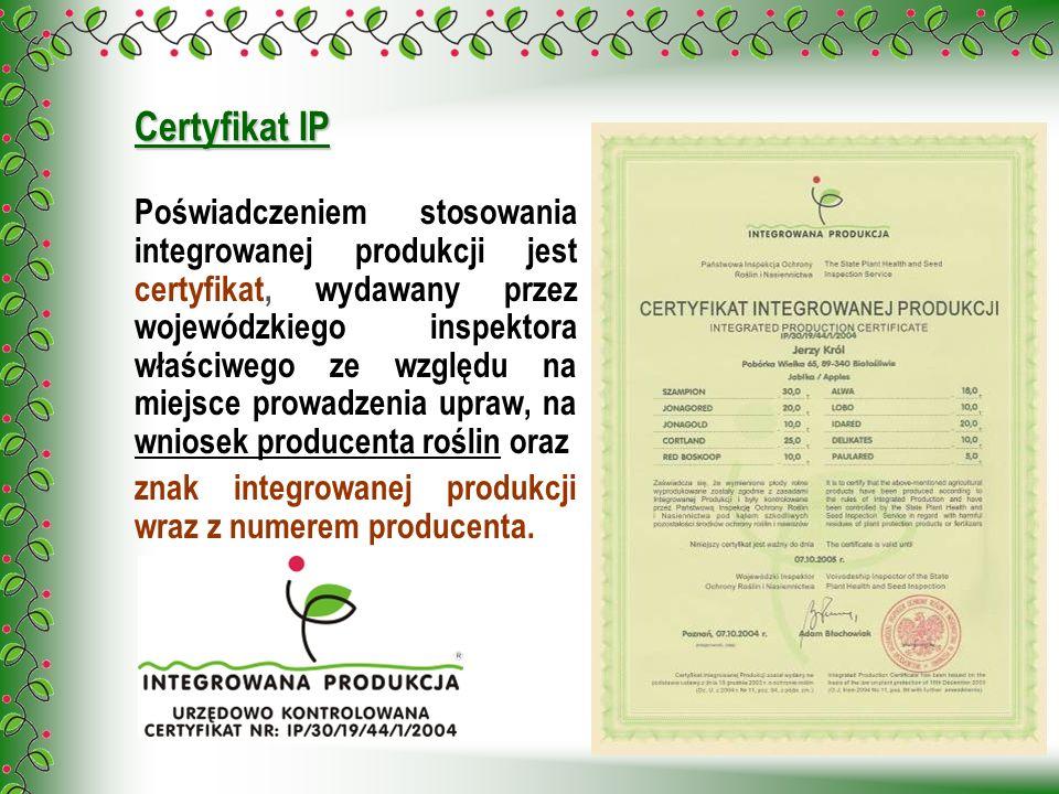 Certyfikat IP