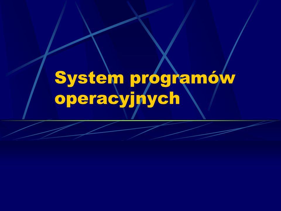 System programów operacyjnych