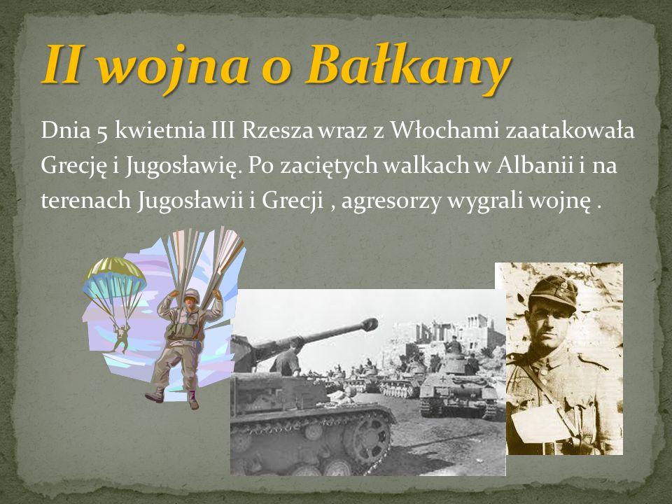 II wojna o Bałkany