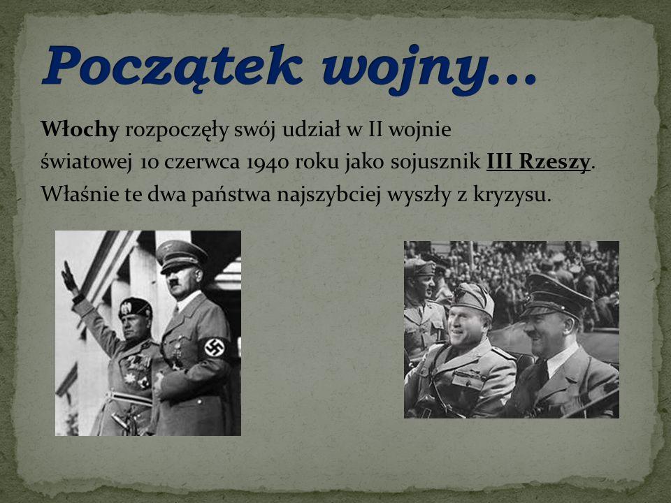 Początek wojny…