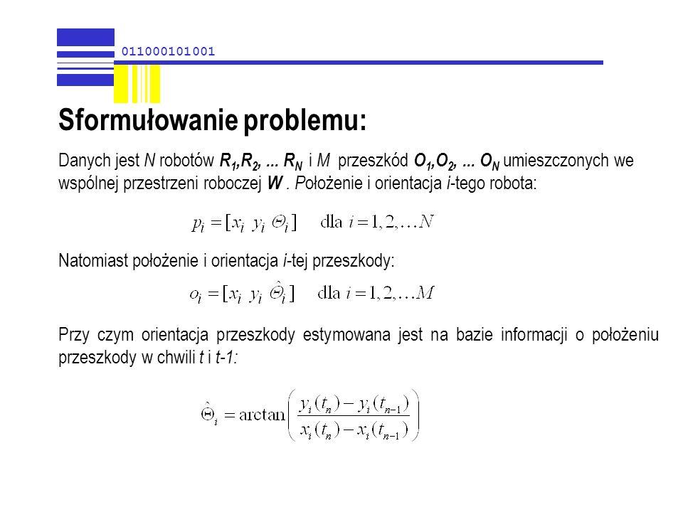 Sformułowanie problemu: