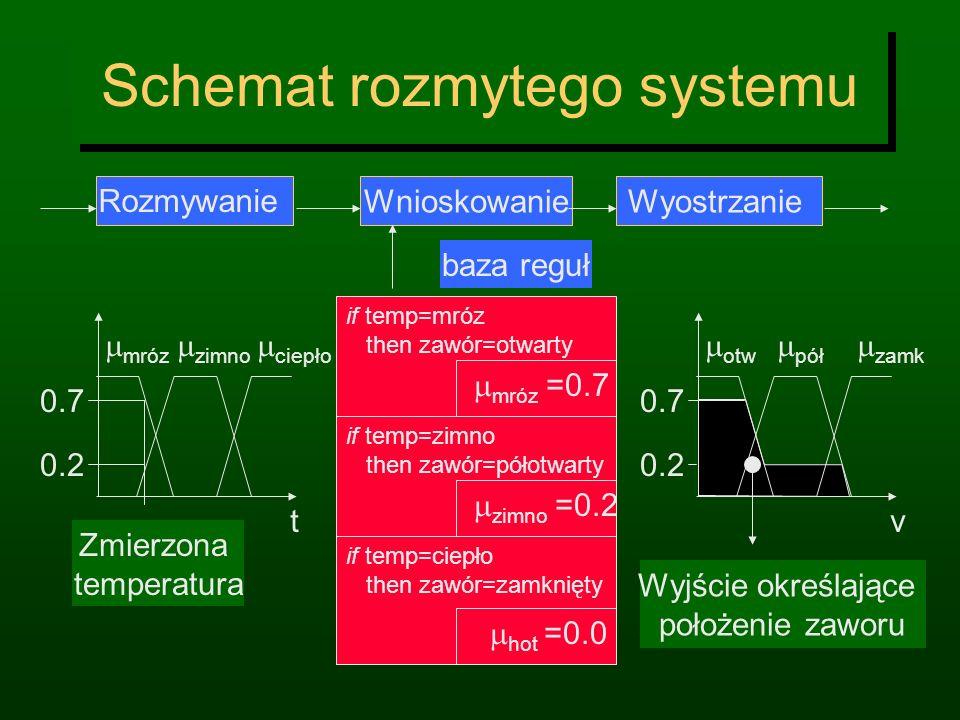 Schemat rozmytego systemu