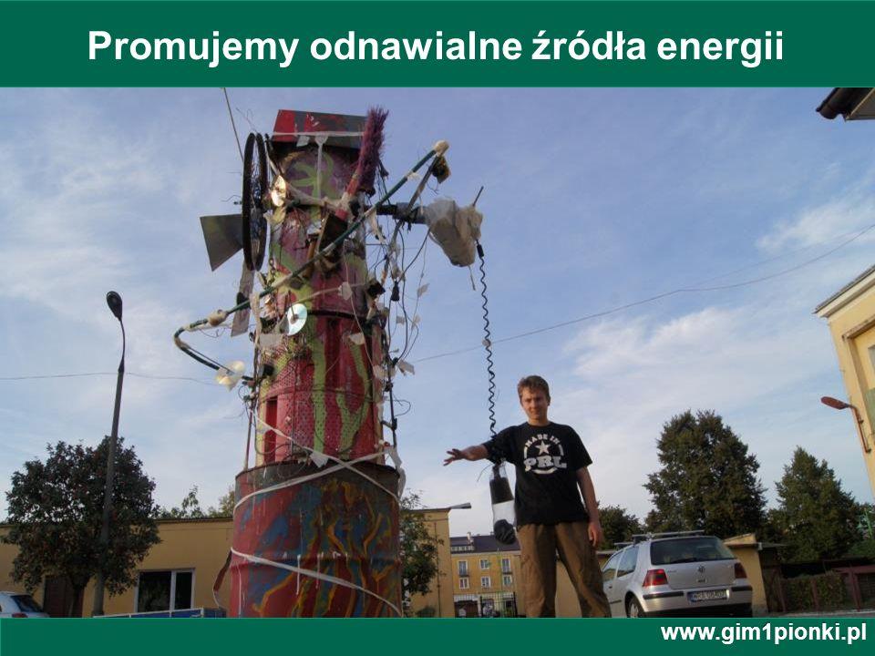 Promujemy odnawialne źródła energii