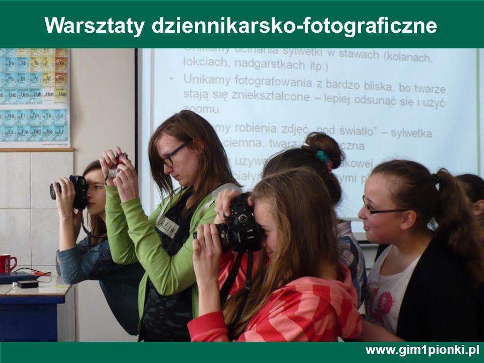 Warsztaty dziennikarsko-fotograficzne