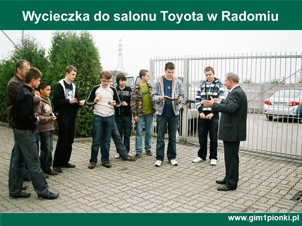 Wycieczka do salonu Toyota w Radomiu