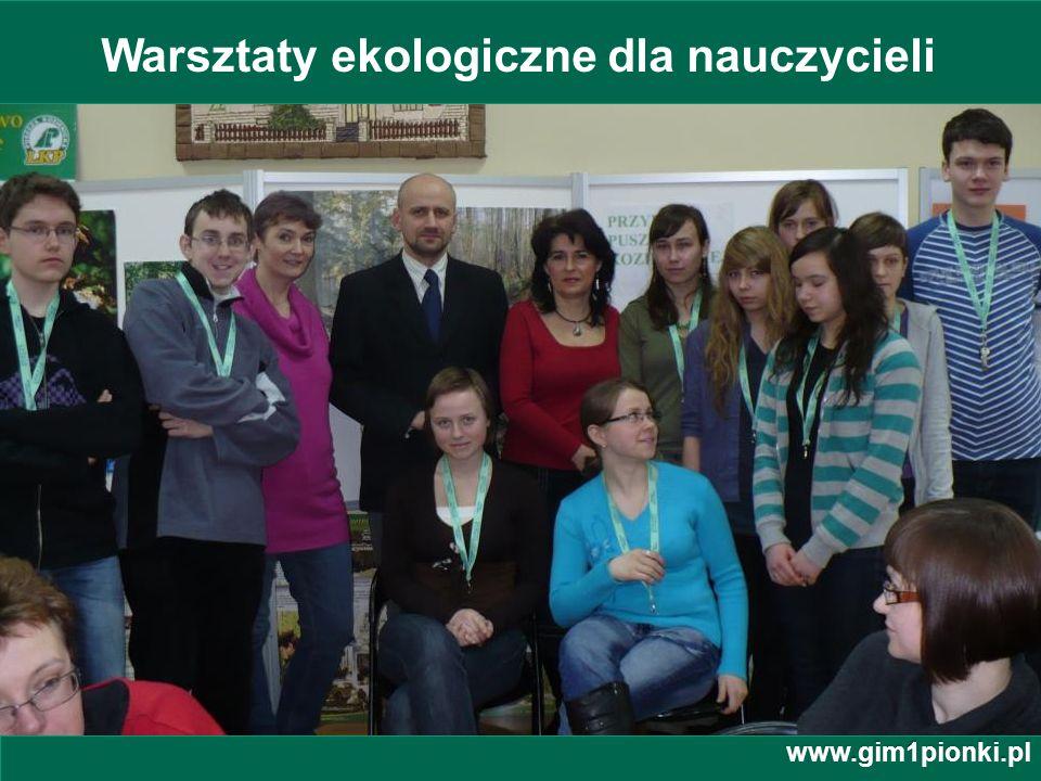 Warsztaty ekologiczne dla nauczycieli