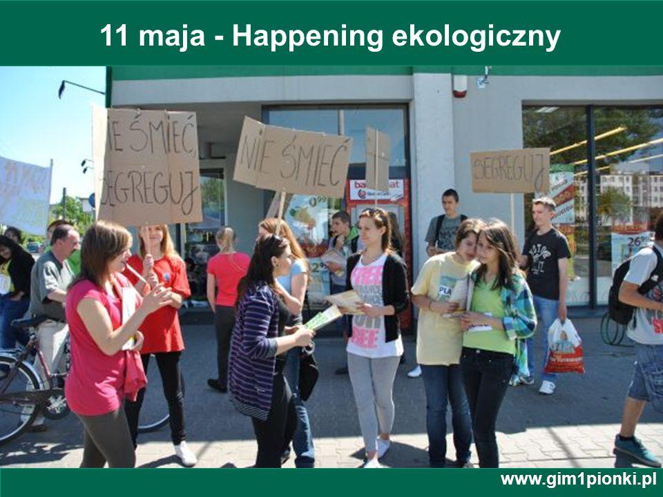 11 maja - Happening ekologiczny