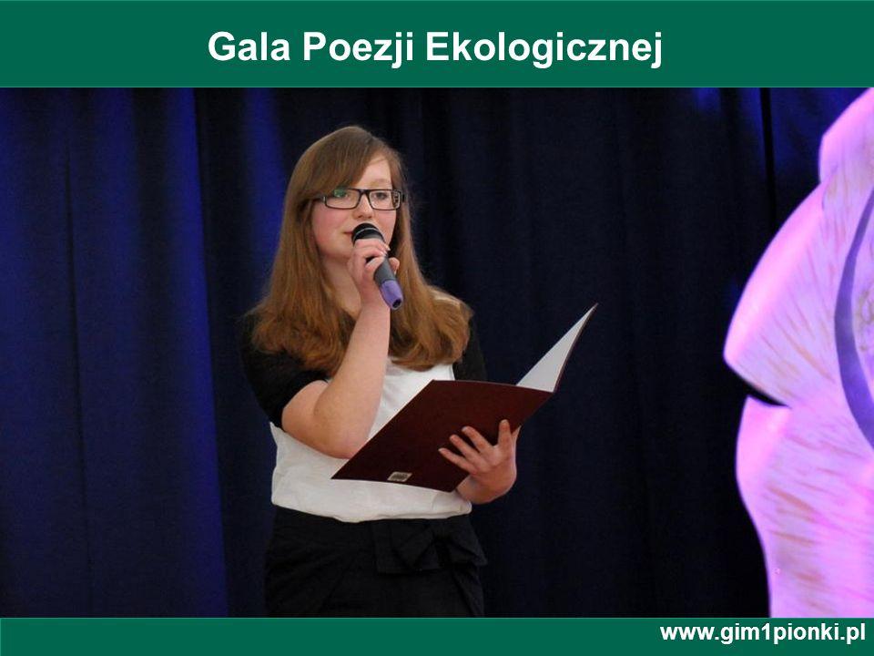 Gala Poezji Ekologicznej