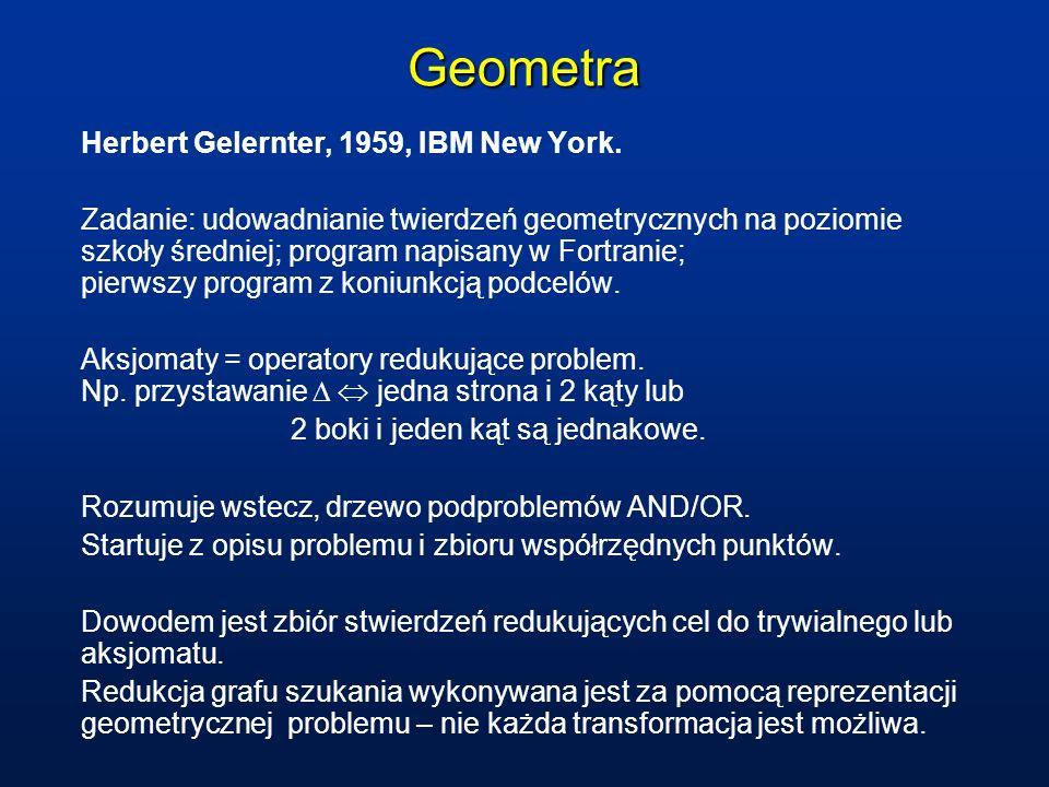 Geometra Herbert Gelernter, 1959, IBM New York.