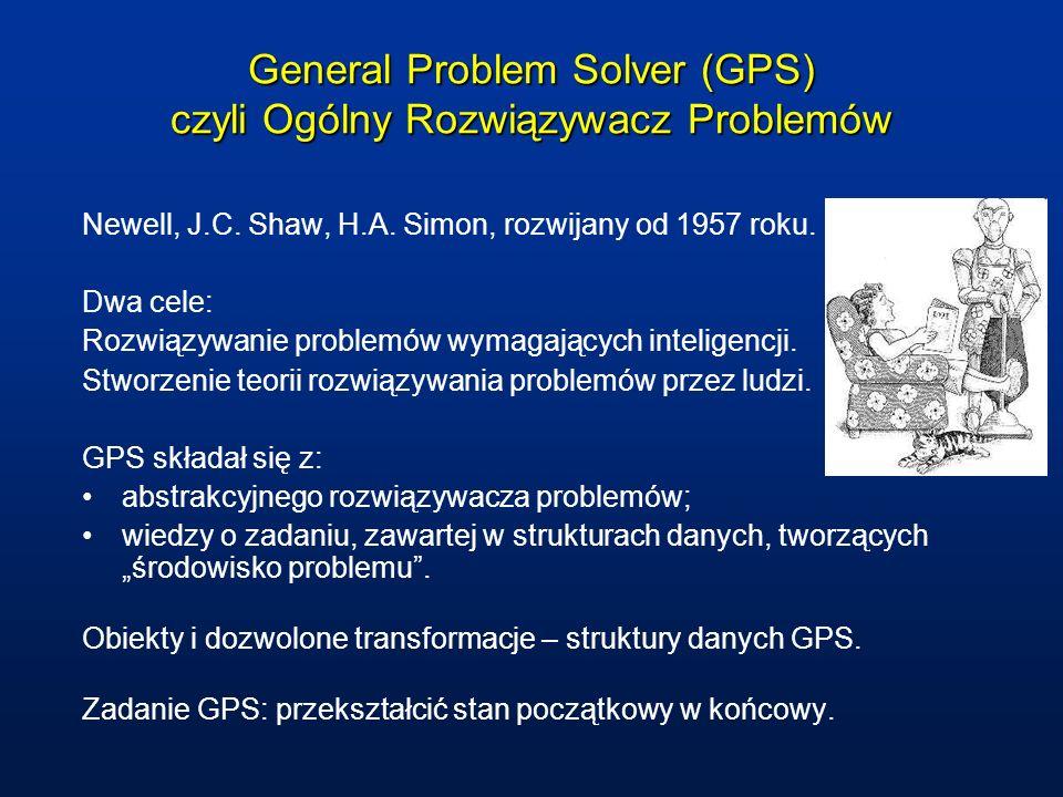 General Problem Solver (GPS) czyli Ogólny Rozwiązywacz Problemów