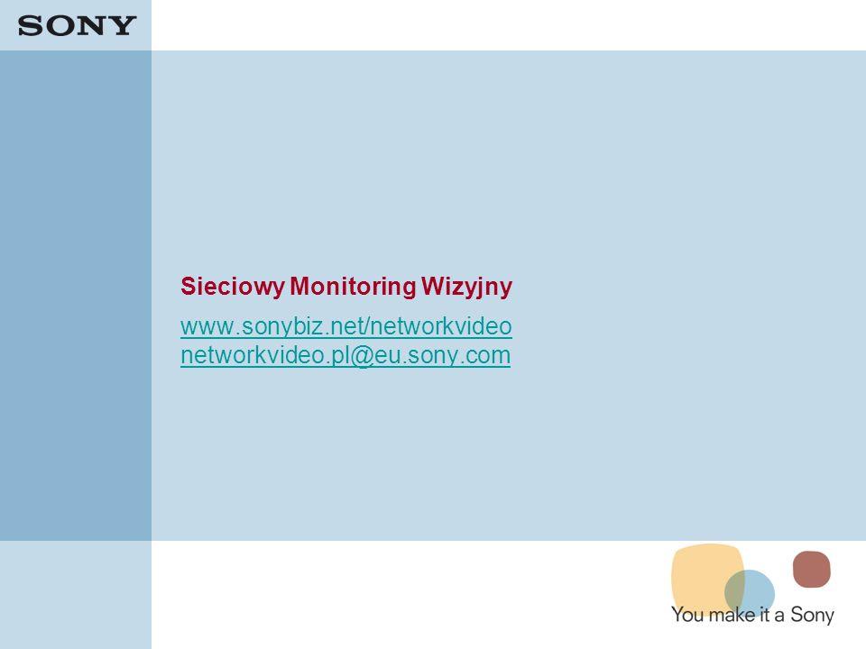 Sieciowy Monitoring Wizyjny