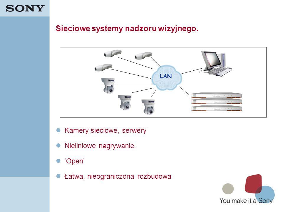 Sieciowe systemy nadzoru wizyjnego.