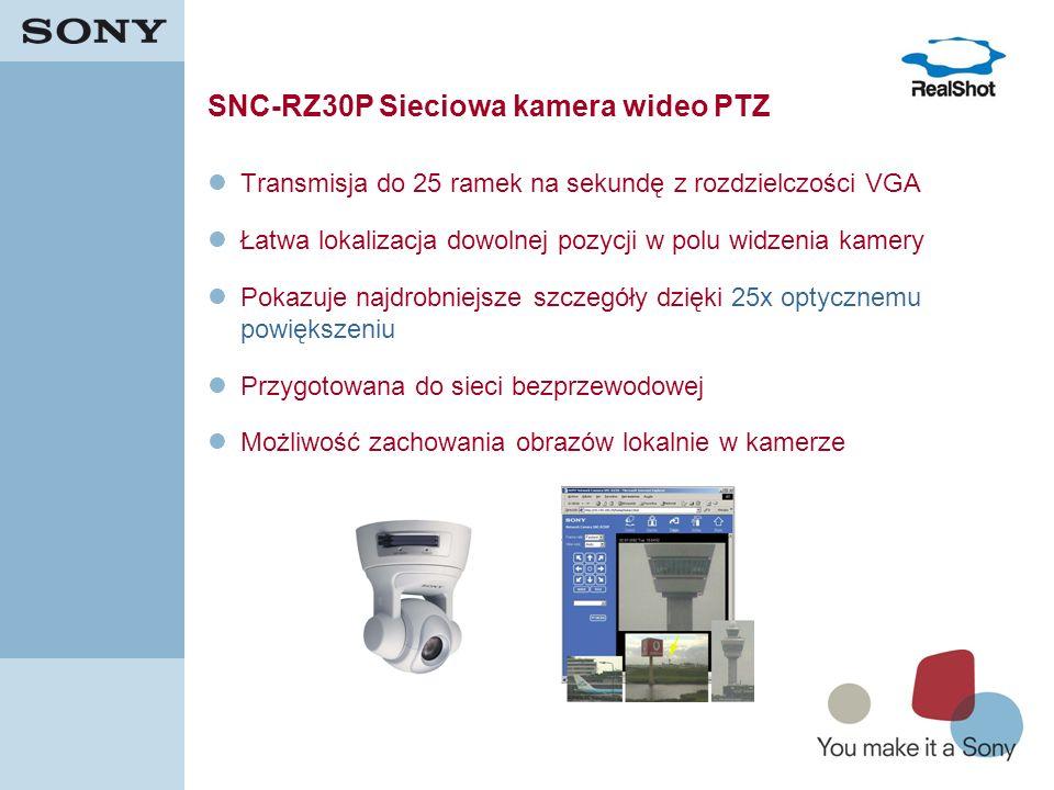 SNC-RZ30P Sieciowa kamera wideo PTZ