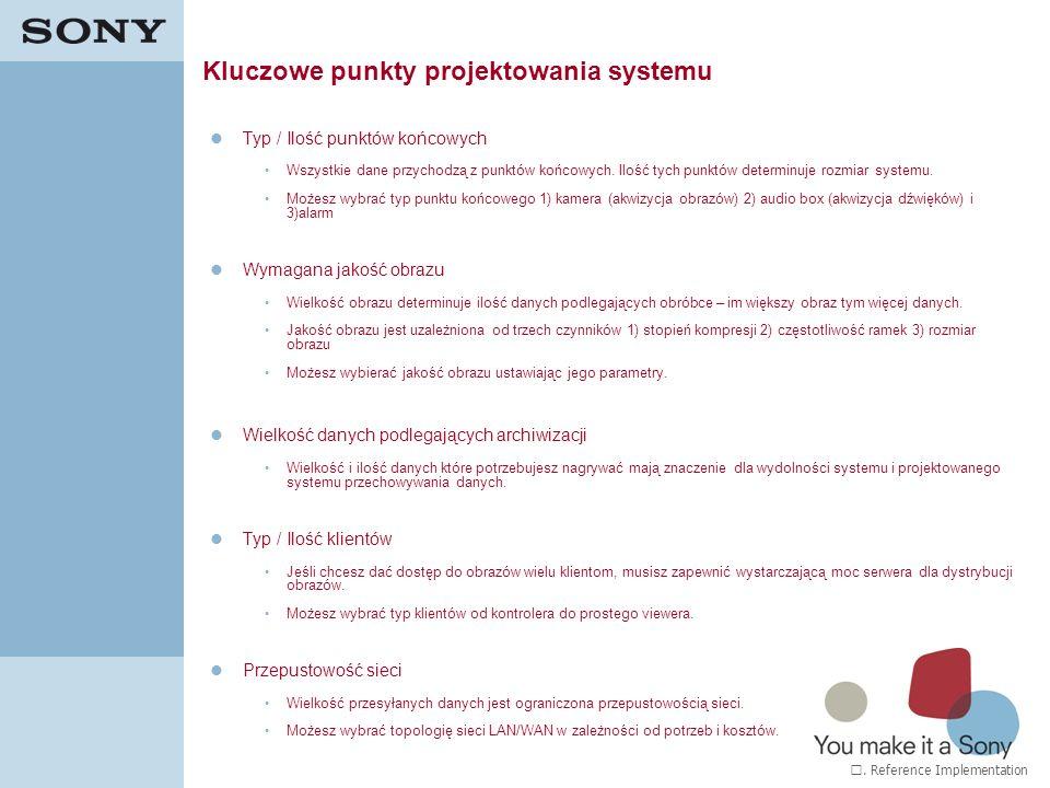 Kluczowe punkty projektowania systemu