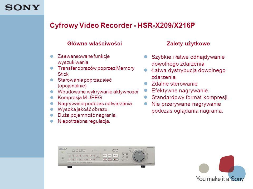 Cyfrowy Video Recorder - HSR-X209/X216P