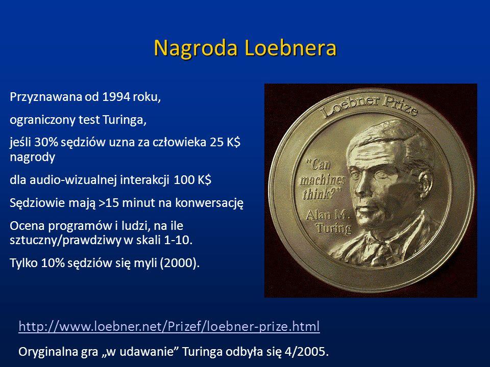 Nagroda Loebnera http://www.loebner.net/Prizef/loebner-prize.html