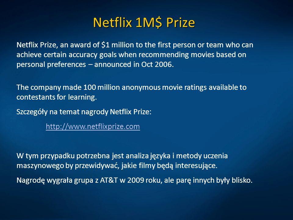 Netflix 1M$ Prize