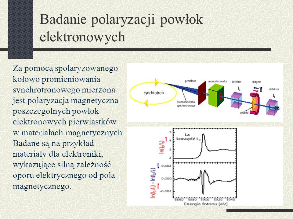 Badanie polaryzacji powłok elektronowych