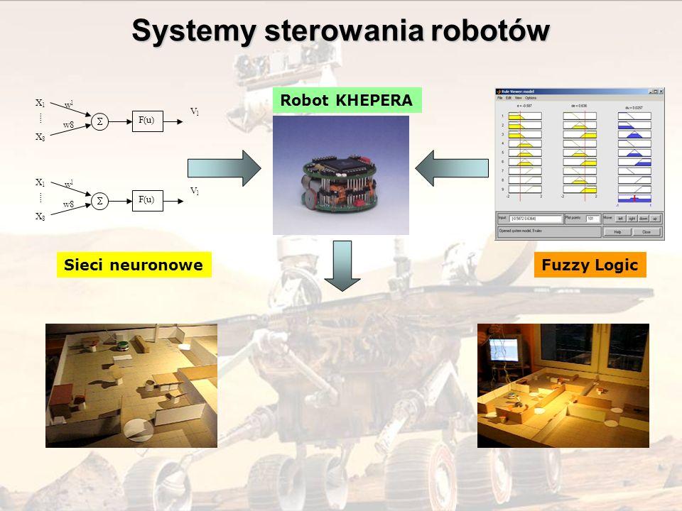 Systemy sterowania robotów