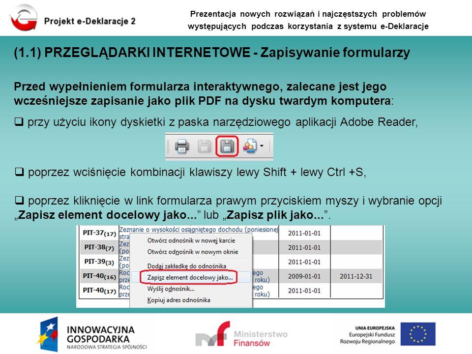 (1.1) PRZEGLĄDARKI INTERNETOWE - Zapisywanie formularzy