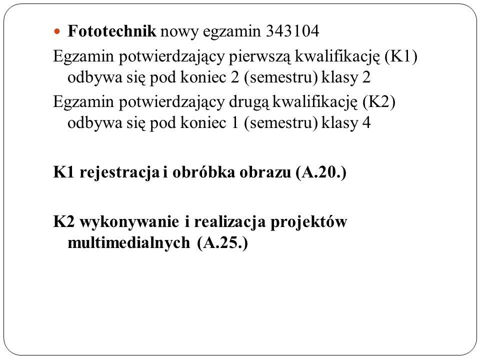 Fototechnik nowy egzamin 343104