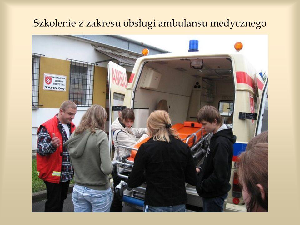Szkolenie z zakresu obsługi ambulansu medycznego
