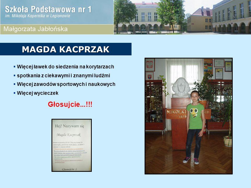 MAGDA KACPRZAK Głosujcie...!!!