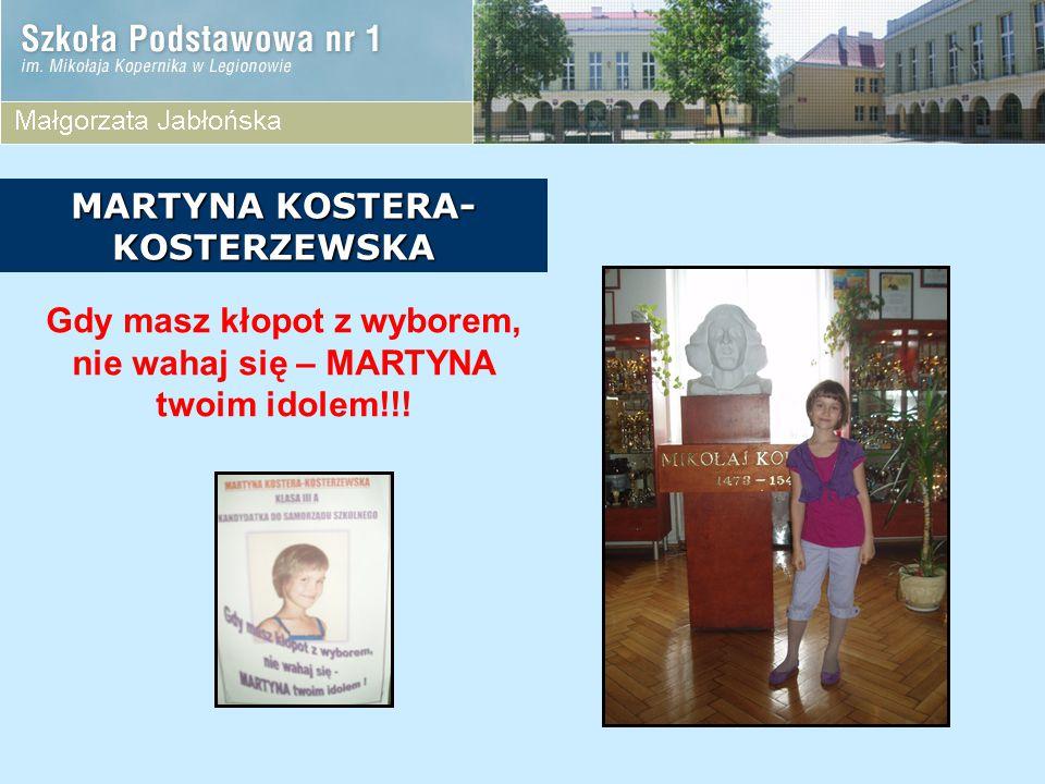 MARTYNA KOSTERA-KOSTERZEWSKA