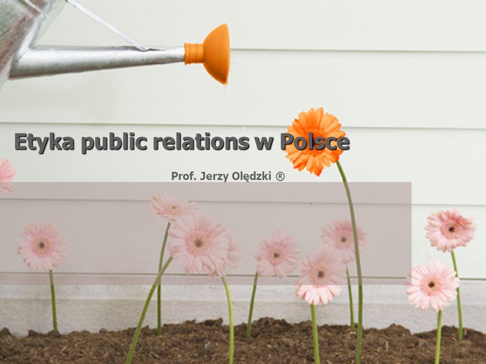 Etyka public relations w Polsce
