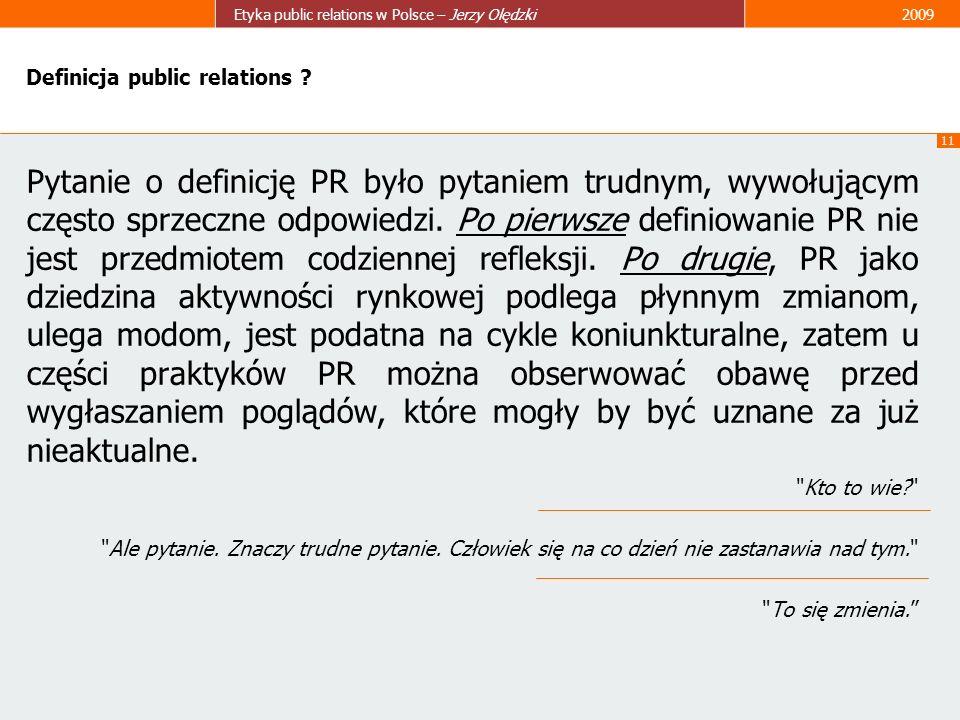 Definicja public relations