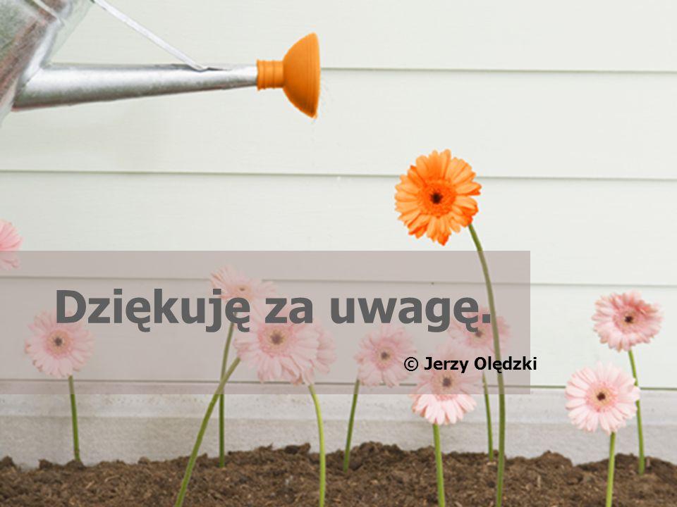 Dziękuję za uwagę. © Jerzy Olędzki 36 36