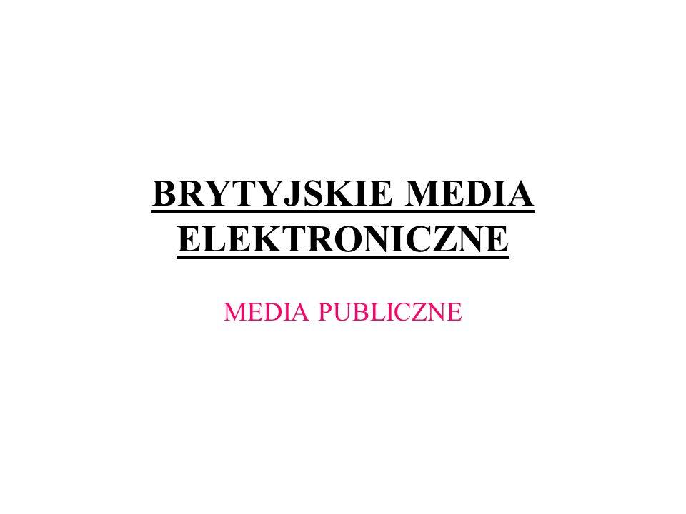 BRYTYJSKIE MEDIA ELEKTRONICZNE