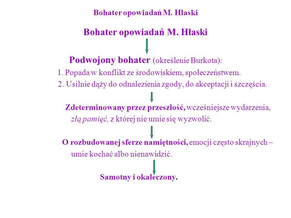 Bohater opowiadań M. Hłaski
