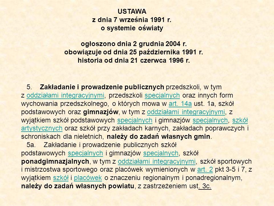 historia od dnia 21 czerwca 1996 r.
