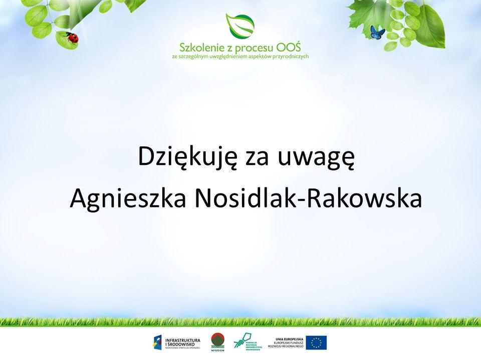 Agnieszka Nosidlak-Rakowska