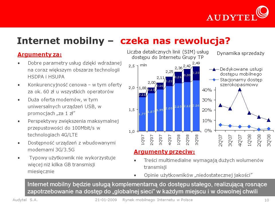 Internet mobilny – czeka nas rewolucja