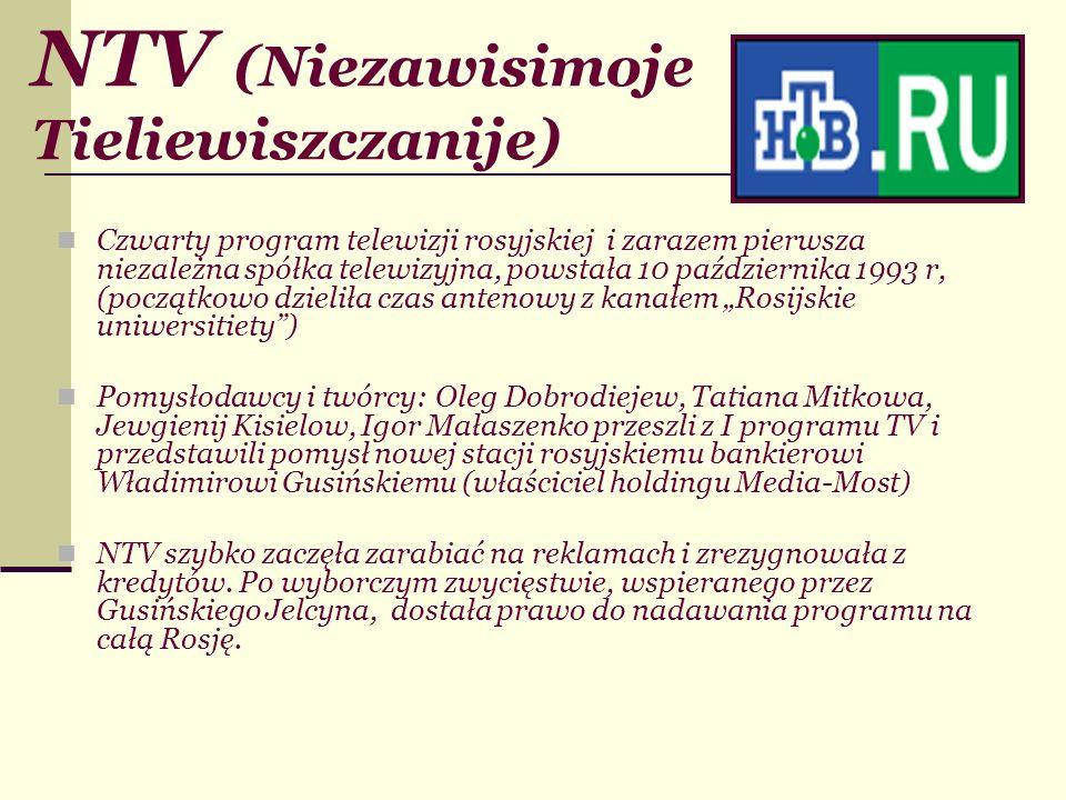 NTV (Niezawisimoje Tieliewiszczanije)