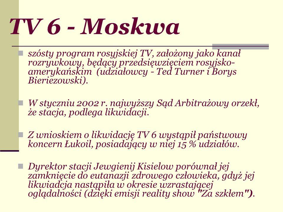 TV 6 - Moskwa