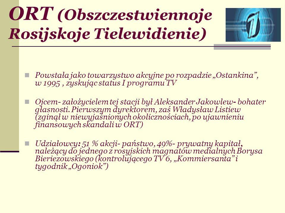ORT (Obszczestwiennoje Rosijskoje Tielewidienie)