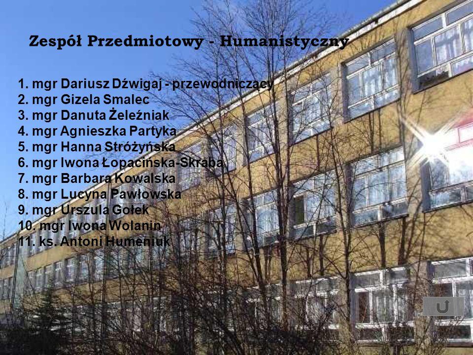 Zespół Przedmiotowy - Humanistyczny