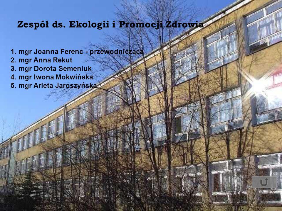 Zespół ds. Ekologii i Promocji Zdrowia