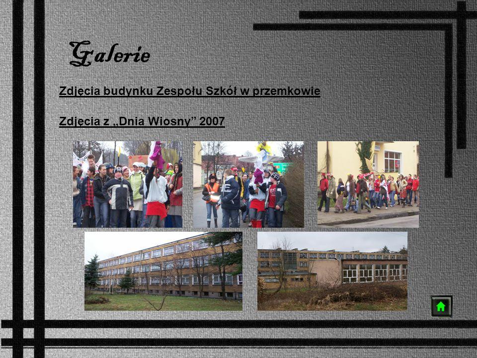 Galerie Zdjęcia budynku Zespołu Szkół w przemkowie